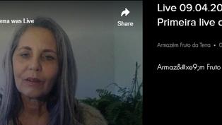 Live 09.04.2020 - Bate Papo - Primeira live da página