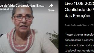 Live 11.05.2020 - Saúde e Qualidade de Vida Cuidando das Emoções
