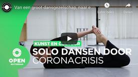 Van een groot dansgezelschap naar een solo in eenzaamheid