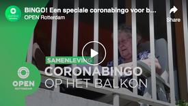 BINGO! Een speciale coronabingo voor bewoners van Hoogvlietse zorgflat