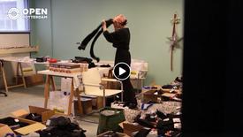 OpenRotterdam: Rotterdamse modeontwerpster vult tasjes voor daklozen