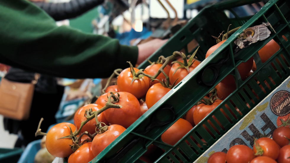 A Look at The Green Door Market