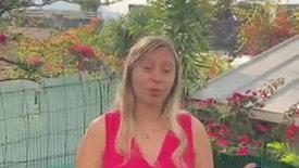 Joséphine Pierrat, jeune ambassadrice pour l'environnement à La Réunion