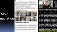 Mold 101 - 5th Class - Mold Remediation