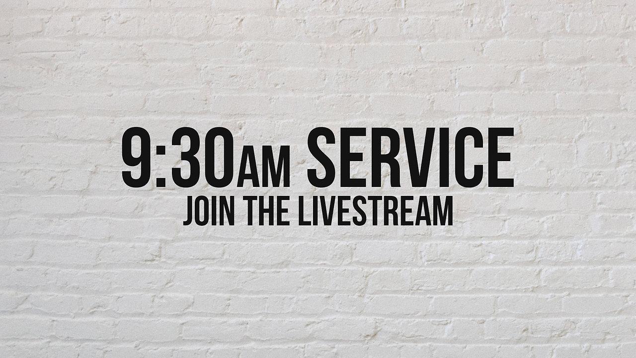 Sunday, March 29th, 9:30am Livestream