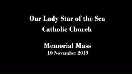 Memorial Mass 2019 Nov 9