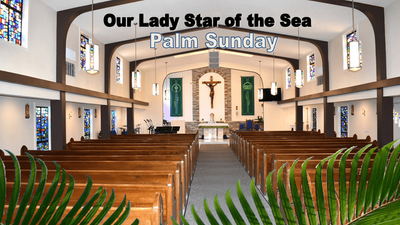 Online Mass: 5 April 2020 Palm Sunday