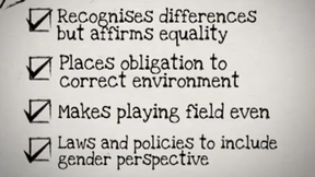 CEDAW Quick Concise: The principle of substantive equality