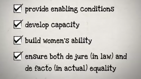 CEDAW Quick Concise: Principle of State Obligation