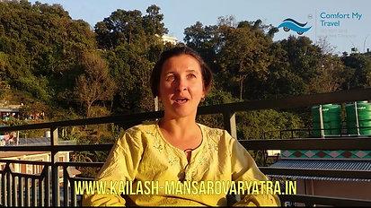 Mrs Sara Testimonial on Kailash Yatra