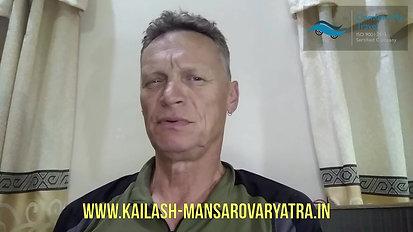 Mr Nick testimonial on Kailash Yatra
