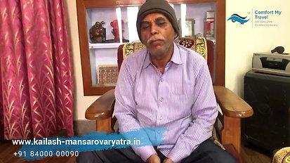 Mr. Dinesh Shukla on Kailash Yatra