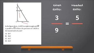 SAT Math - Similar Triangles