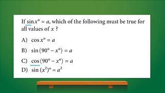 IVYBound #MathMonday - Basic Trigonometric Identity