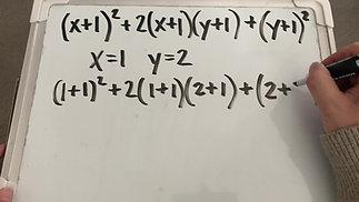 SAT/ACT Math - Equivalent Expressions