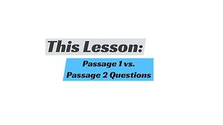 SAT Reading - Dual Passage Questions