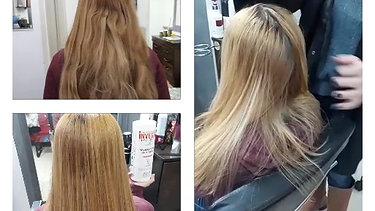 החלקת שיער 1