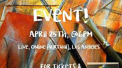 Virtual Paint & Sip Event