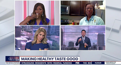 Making Healthy Taste Great Fox35 Video