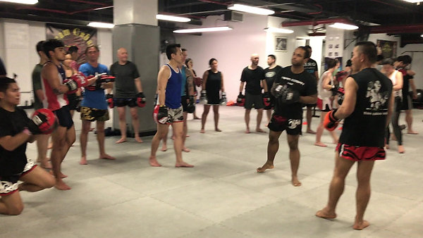 Boxing for Thai Boxers: Incorporating knees and parrying with boxing