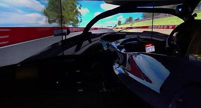 EurOz Simulator lap Bathurst