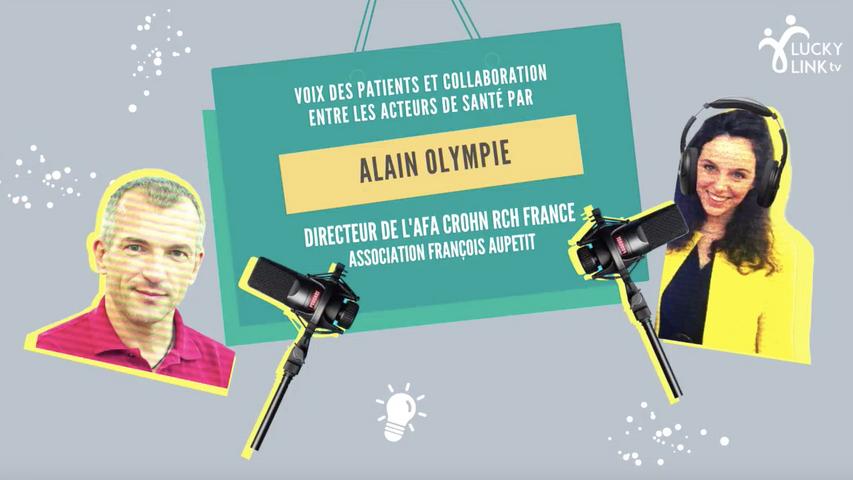 Lucky or Funcky Alain Olympie, Directeur de l'Afa Crohn France
