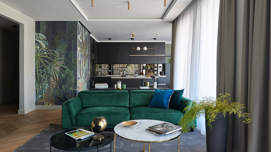 Cosmopoltian Penthouse by Andrea Szakos
