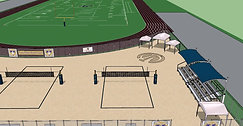 Dos Pueblos High School Beach Volleyball Courts