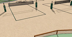 Cal Poly State University Beach Volleyball Courts