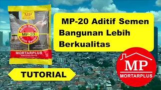 MP-20 Aditif Semen Bangunan Lebih Berkualitas WA