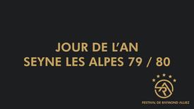 Jour de l'An Seyne les Alpes 79 / 80