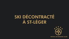 Ski dècontractè à St-lèger