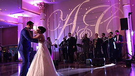 Sparklers + Monogram + Up Lighting + Intells + Live Musicians