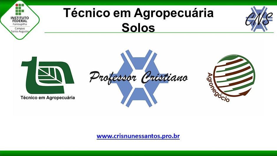 Solos - Técnico em Agropecuária