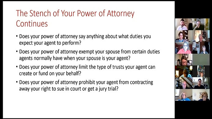 5-6-2021 - Beyond Powers of Attorney – Holistic Planning for Future Incapacity