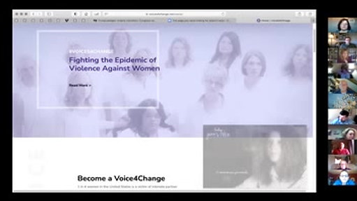 1-7-2021 - Become a Voice4Change Against Intimate Partner Violence