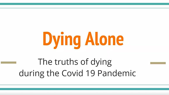5-14-2020 - The Truths of Dying During the Covid 19 Pandemic