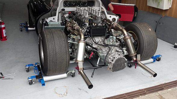 XJ13 Engine Run Video HD
