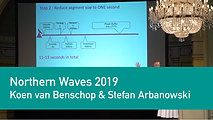 Koen van Benschop & Stefan Arbanowski - Low Latency Streaming | Northern Waves TV 2019