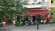 Turkish cafe across the street