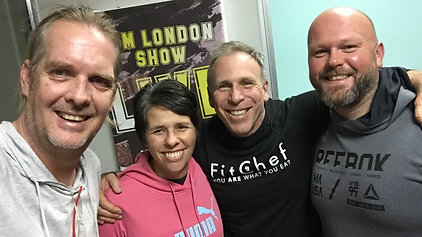 Sean on the Fitchef Show