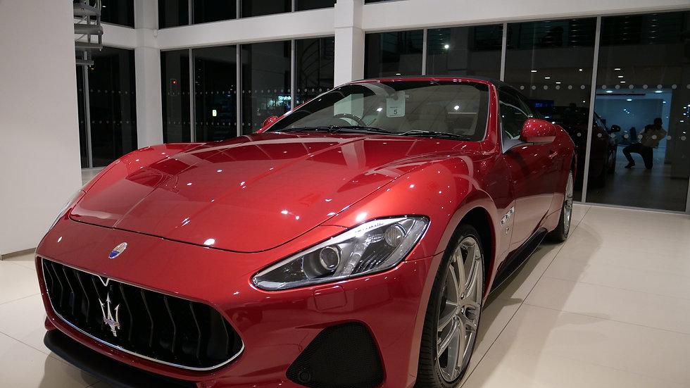 Maserati Unveiling Event Cardiff