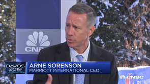 Watch CNBC's full interview with Marriott CEO Arne Sorenson - Davos 2019