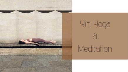 16052021 - Yin Yoga & Meditation (75 minutes) - Center your energy