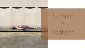 11052021M - Yin & Meditation(45 mins) - Grounding