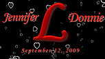 Falling Hearts Monogram