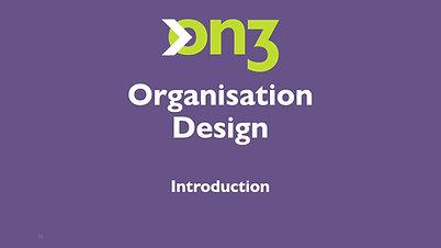 Organisation Design - Introduction