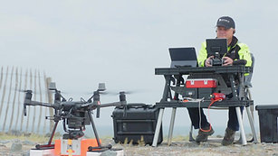 Drone delivery Port of Rotterdam