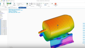 Simulation FEA and CFD in Solid Edge