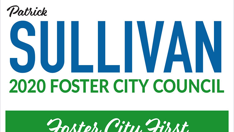 Patrick Sullivan for Foster City 2020